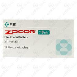 Zocor 10mg x 84